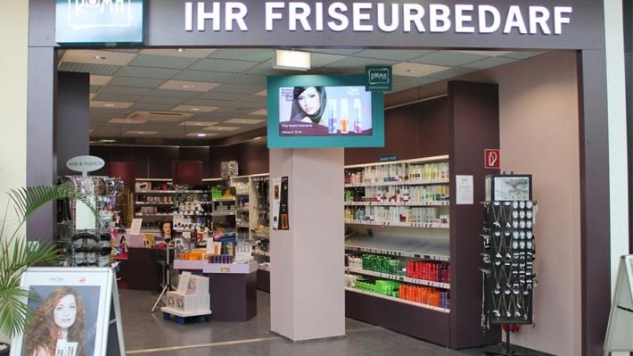Roma friseurbedarf digital signage Austria