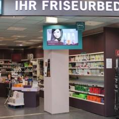Roma friseurbedarf digital signage